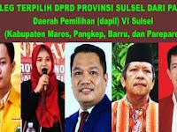 Wow Keren, 5 Caleg Asal Pangkep Terpilih Duduk di Parlemen DPRD Provinsi Sulsel