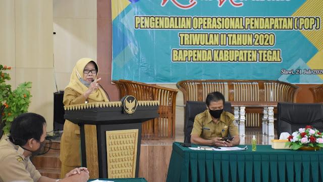 Akibat PSBB PAD Kabupaten Tegal Turun 2,12 Persen