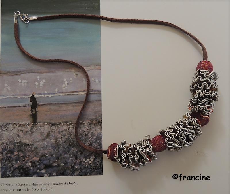 Bien-aimé FRANCINE BRICOLE : Colliers et bracelets à fleurettes en Capsules  HV96