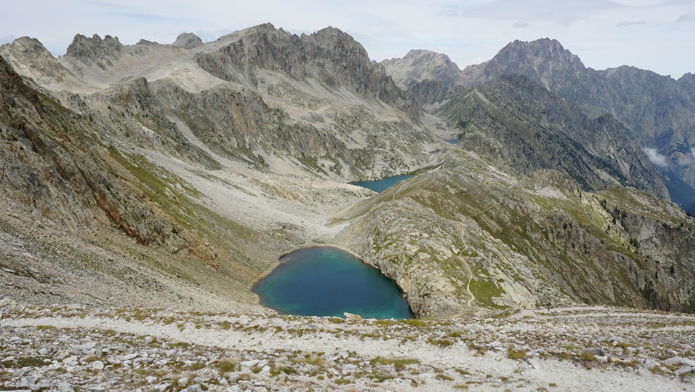 Lakes on the Italian side of Col de Frémamorte