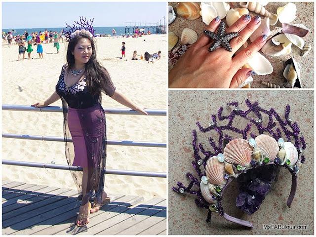 mermaid crown diy