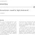 A aterosclerose é causada pelo colesterol alto?