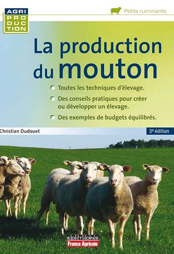 La production du Mouton 3 Ed - WWW.VETBOOKSTORE.COM