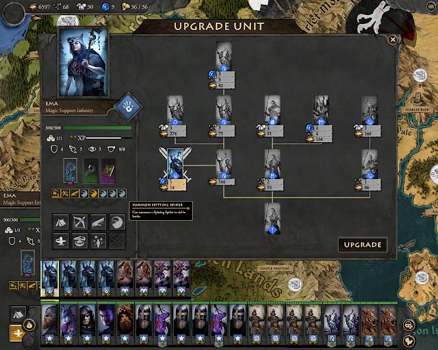 Fantasy General 2 - Maidens Upgrades