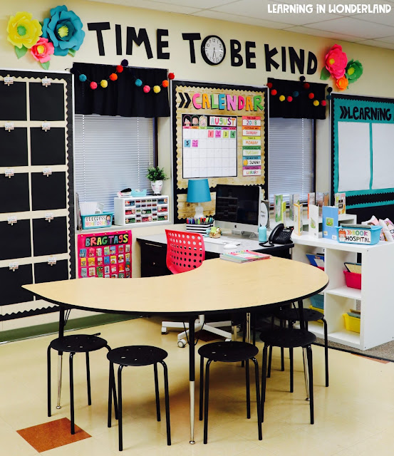 Learning In Wonderland Classroom Tour 2018 2019