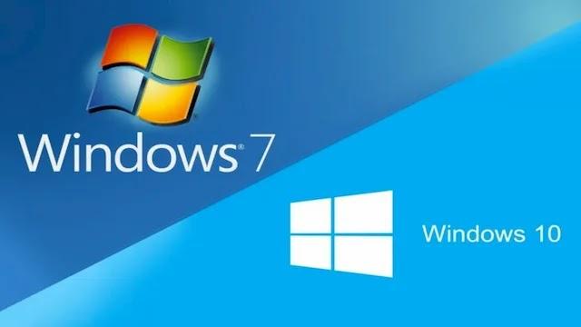 كيفية جعل ويندوز 10 مثل ويندوز 7 شكلا وصورة