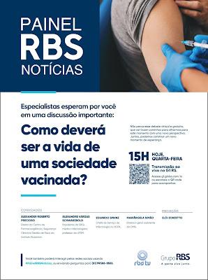 Anúncio Painel RBS Notícias. Crédito: Divulgação