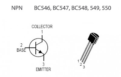 Pinouts of Common Electronic Components