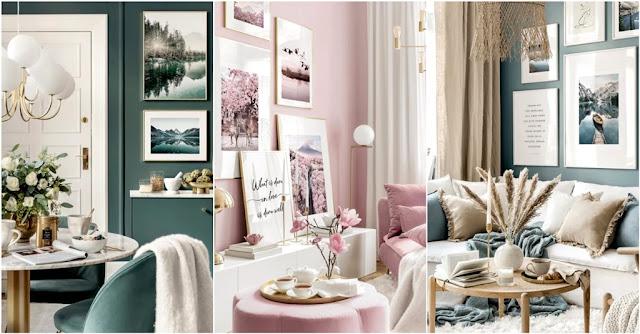 abbellire una parete soggiorno