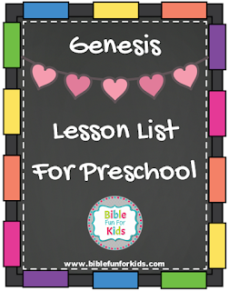 http://www.biblefunforkids.com/2016/12/genesis-preschool-lesson-links.html