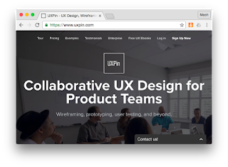 UXPin for UI and UX design and collaboration