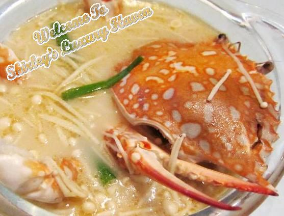 asian cooking chinese flower crab soup
