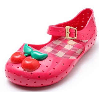 Summer Girls Breathable Cherry Jelly Soft Sandals Shoes