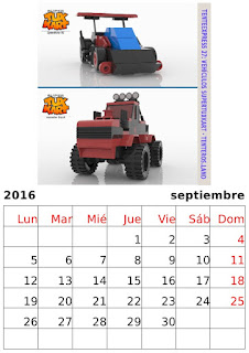 Calendario Supertuxkart 2016 - Carreras de Tentes