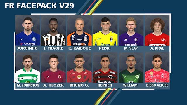 FR Facepack V29 For Pro Evolution Soccer 2017