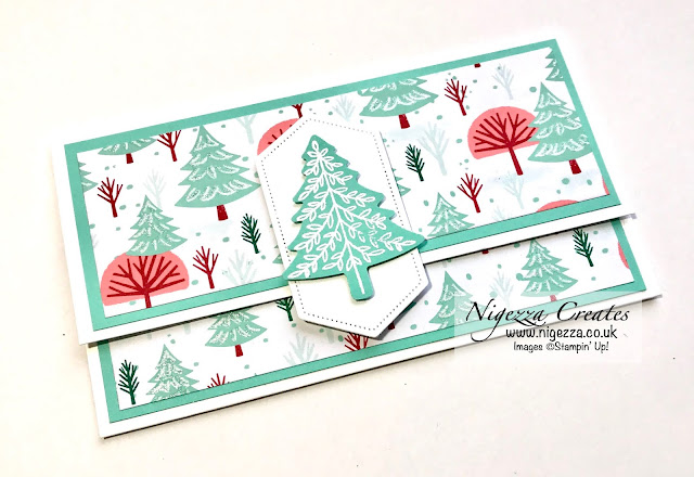 Nigezza Creates With Stampin' Up! Let It Snow Money Wallet & Quick Tags