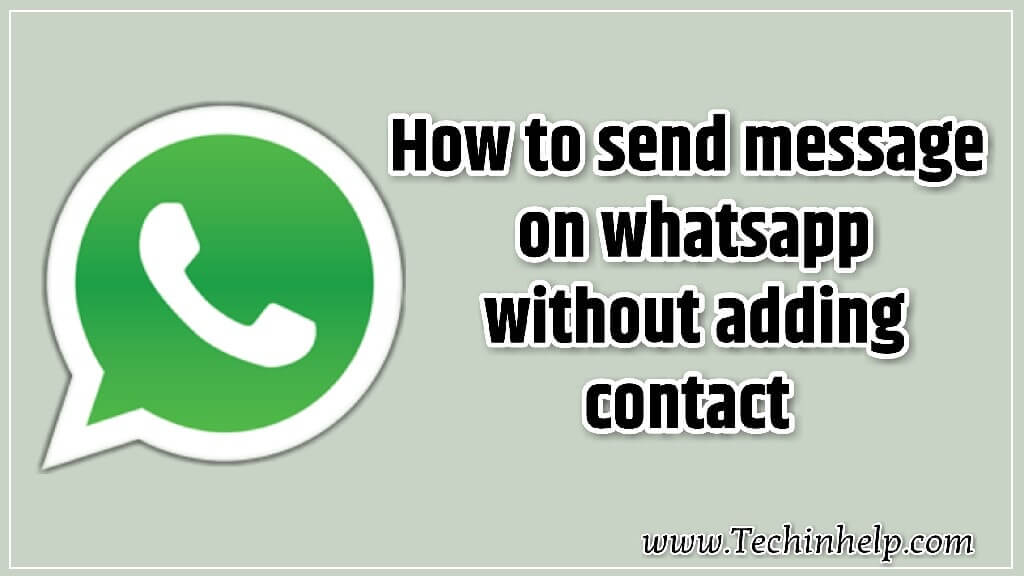 Send messages on whatsapp