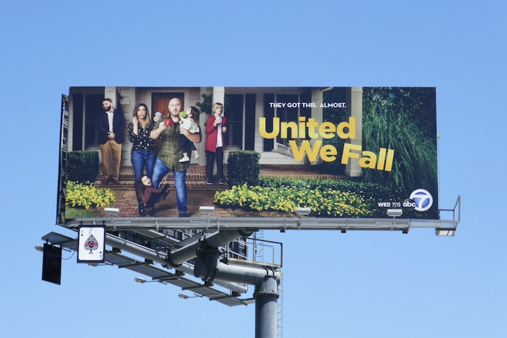 United We Fall sitcom billboard
