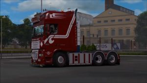 Truck – DAF XF 105 by Stanley V 1.3 + Templates