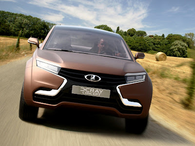 2013 Lada XRay Concept Normal Resolution HD Wallpaper