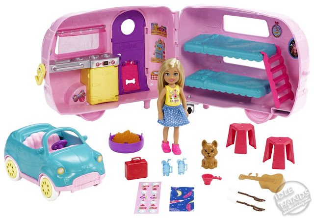 Toy Fair 2019 Mattel Barbie Club Chelsea™ Camper and Accessories 33