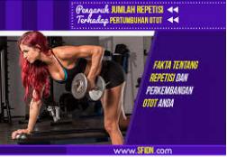 Jumlah Repetisi Latihan Untuk Membesarkan Otot