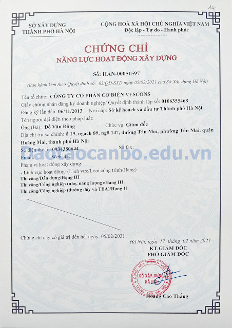 chung chi nang luc thi cong duong day tba hang 2