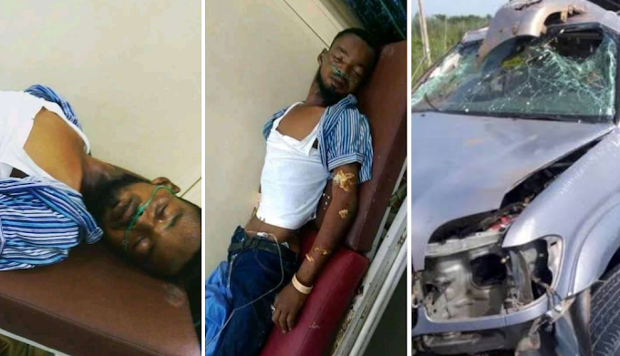 Unknown man knock down by bus driver Help Share This Till It Get To His Family