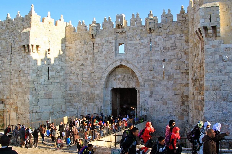 Porta de Damasc a Jerusalem