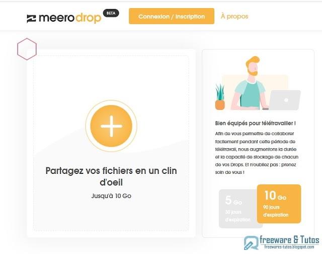 MeeroDrop : un super outil de partage de fichiers !