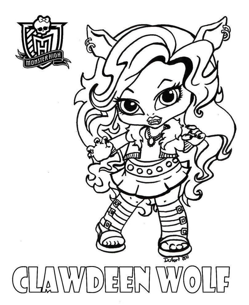 Desenhos Das Monster High Para Pintar