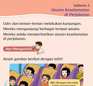 Subtema 3 Aturan Keselamatan di Perjalanan www.simplenews.me