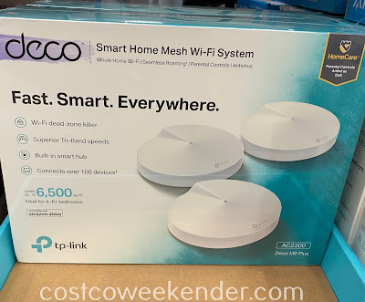 Turn your smart home into an even smarter home with the TP-Link Deco M9 Plus AC2200 Wi-Fi System