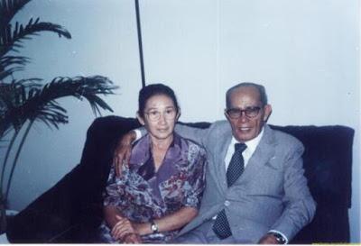 Pastor Estevam e sua esposa Gizeuda