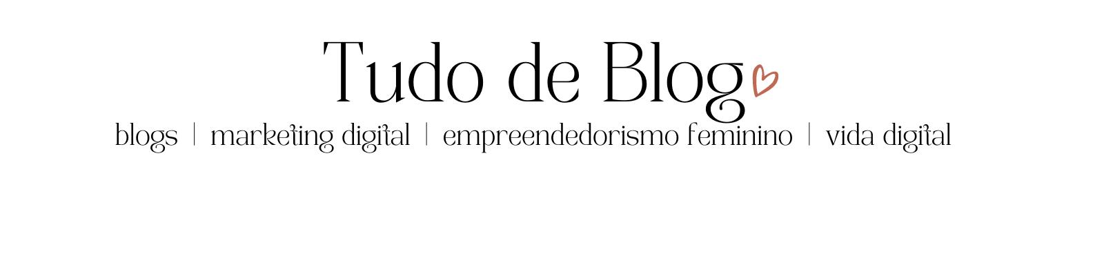Tudo de Blog