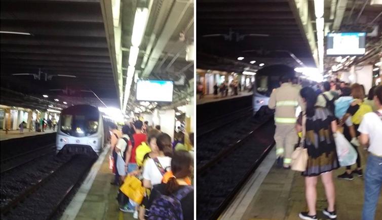 Lompat ke Rel Saat Kereta Api Datang di Stasiun MTR Sheung Shui, Seorang Wanita meninggal Dunia