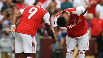 Lacazette Aubameyang Arsenal FC