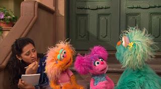 Zoe, Rosita, Abby Cadabby, Leela, Sesame Street Episode 4418 The Princess Story season 44