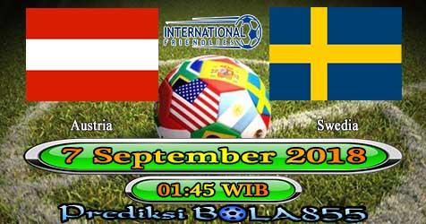 Prediksi Bola855 Austria vs Sweden 7 September 2018