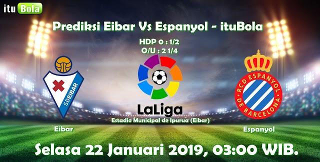 Prediksi Eibar Vs Espanyol - ituBola