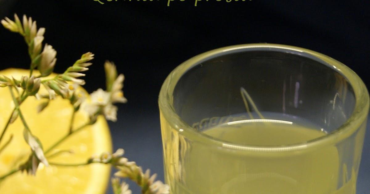 Qchnia po prostu Cytrynówka na bimbrze -> Qchnia U Orzecha