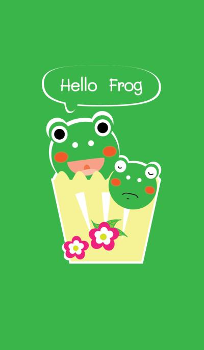 Hello Frog theme v.2
