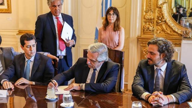 Alberto Fernández destacó la decisión de aumentar las becas a científicos del Conicet