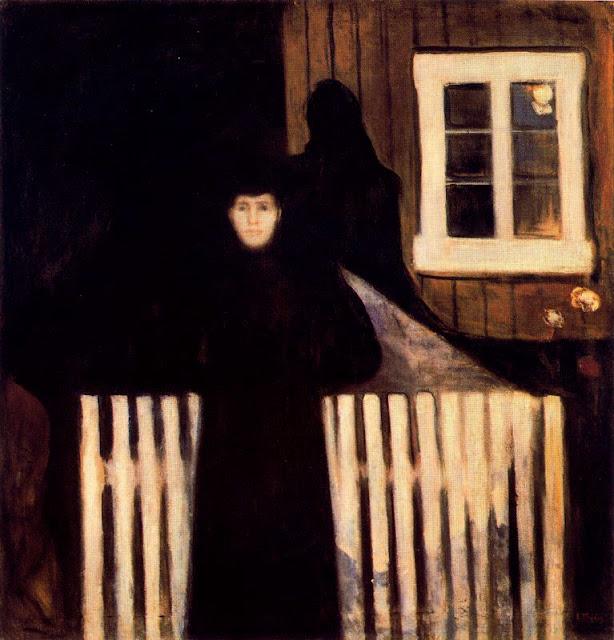 Эдвард Мунк - Лунный свет. 1893