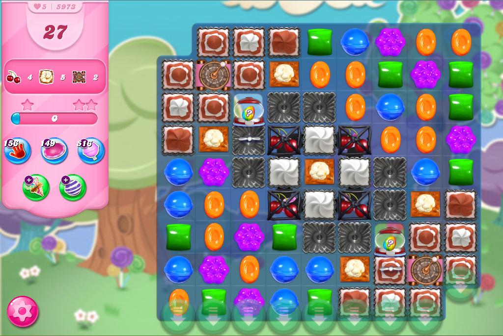 Candy Crush Saga level 5973