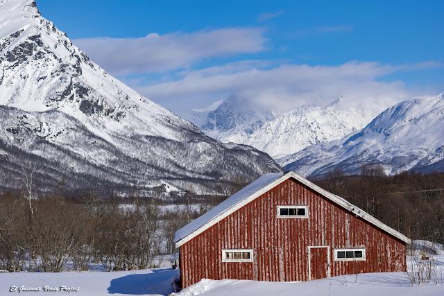 Ruta hacia Nordkjosbotn  y Skibotn - Tromso por El Guisante Verde Project