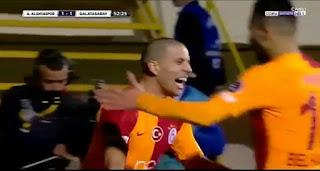 فيديو هدف رائع + ملخص ماقدمه فيغولي ضد الانيا سبور في الدوري التركي 02-02-2019