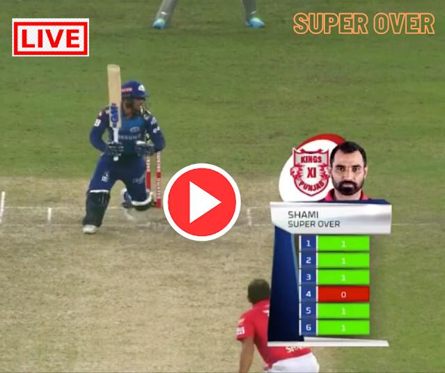 IPL 2020: MAtch 36: MI vs KXIP SUPEROVER