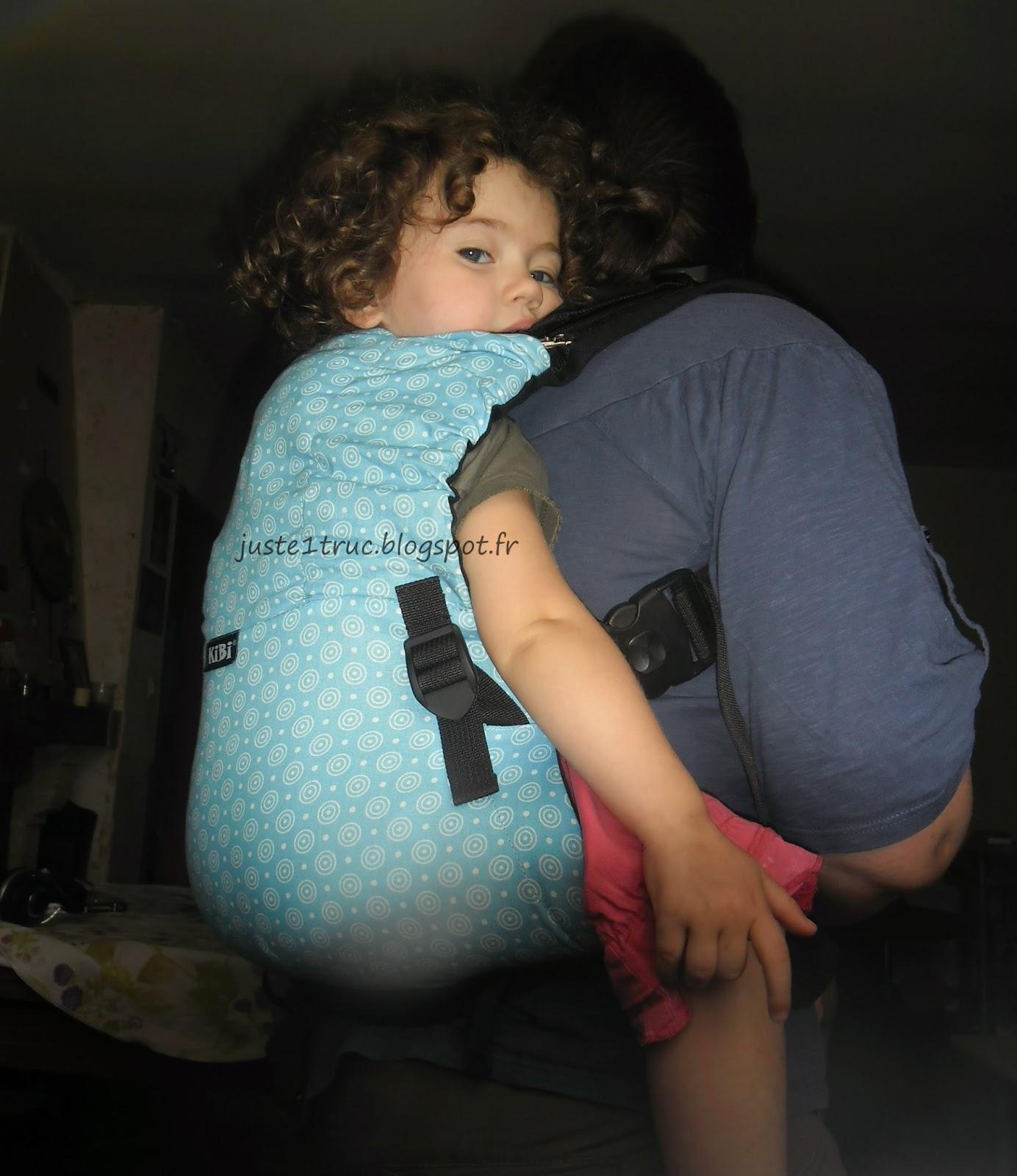 babywearing babycarrier préformé porte-bébé KIBI kibi porter bambin test  avis caractéristiquesgrand taille réglable portage 44d40d65d72