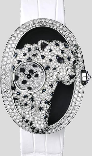 """أفضل ساعة كارتير الاصليه """"Cartier Panthere Ajouree de Cartier"""""""